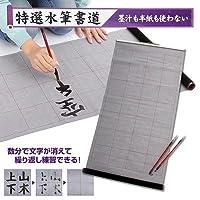 特選 水筆書道(解説書付)墨も半紙も不要で書道の練習が出来る(T&H)