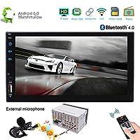 7インチTFT LCD容量性タッチスクリーンのAndroid 6.0 800×480解像度のカーラジオGPSナビゲーションシステムは、USBドングル4G内蔵RDSシステムのBluetooth 4.0外部マイク3DタイプのGUIインタフェースをサポート