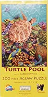 Turtleプール200pcジグソーパズルby SunsOut