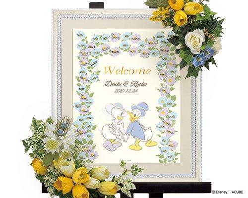 [해외]WISH 결혼식 (웨딩) Disney 웨딩 트리 도널드 & 데이지 (꽃)/WISH Wedding (Wedding) Disney Wedding Tree Donald & Daisy (Flower)