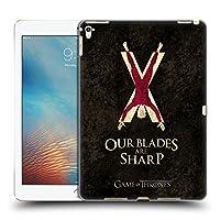 オフィシャルHBO Game of Thrones Bolton ダーク・ディストレス iPad Pro 9.7 (2016) 専用ハードバックケース