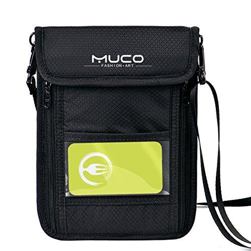 パスポートケース スキミング防止 首下げ ネックポーチ 収納ポーチ 斜め掛け 旅行 多機能