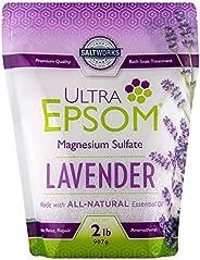 Ultra Epsom Premium Scented Epsom Salt, Lavender