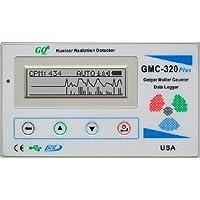 新GQ GMC-320 Plusのガイガーカウンター核放射線検出器データレコーダベータガンマX線検査装置