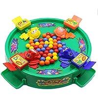 子供のおもちゃ パズルゲーム ピクニックキャンプ 大人気のおもちゃ タ キャッチボール カエル食べるエンドウ豆 2 - 4選手のゲーム キャッチボールゲーム