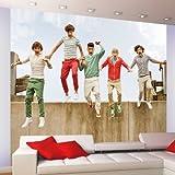 1方向1d-jumpジャンプ壁壁画