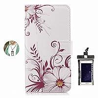 耐汚れ 耐摩擦 Samsung Galaxy G357F ケース 手帳型 本革 レザー カバー 財布型 スタンド機能 カードポケット 耐摩擦 全面保護 人気 アイフォン[無料付防水ポーチケース]