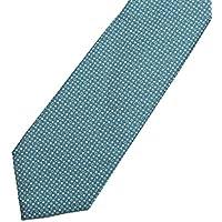 ブルガリ(BVLGARI) ネクタイ 242555 ロゴマニア ターコイズ [並行輸入品]