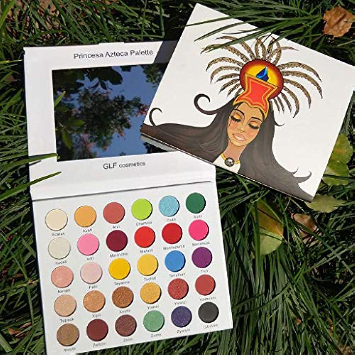 王子ビルマとげAkane アイシャドウパレット 超綺麗 アステカの王女 マット ファッション おしゃれ キラキラ つや消し 人気 長持ち 持ち便利 Eye Shadow (30色)