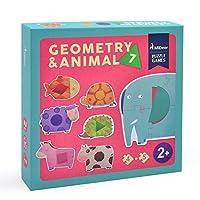siyushop動物おもちゃパズル、ベビークラシックおもちゃ7動物パズル、