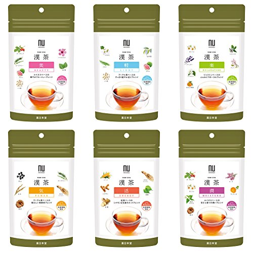 漢茶 6種アソートセット 36包入り ティーバッグ ノンカフェイン 健康茶 薬日本堂