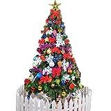 クリスマスツリー Eleovo クリスマスツリー 150cm 豊かなオーナメント 飾りセット付き