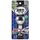 クルマの消臭力 クリップタイプ 消臭芳香剤 車用 タバコ用スカイミントの香り 3.2ml