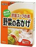 ムソー 洋風スープの素 国産野菜使用 野菜のおかげ < 40g( 5g×8包) > 5個