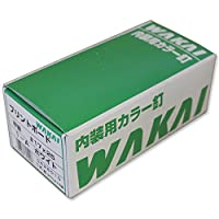 WAKAI プリントボードネイル平頭 1-A #17X25mm ホワイト 1kg