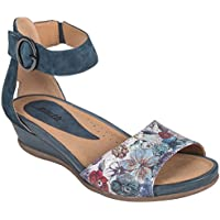 earth Womens Hera Fabric Open Toe Casual Ankle Strap Sandals US