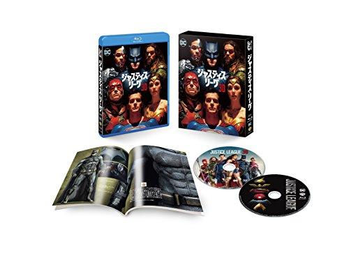 ジャスティス・リーグ 3D&2Dブルーレイセット(初回仕様/2枚組/ブックレット付) [Blu-ray]