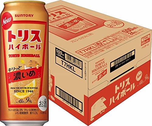 トリスハイボール缶 キリッと濃いめ 500ml×24本