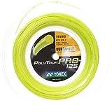 Yonex(ヨネックス) ポリツアープロ 200Mロール 硬式テニス ポリエステル ガット PTP125-2 (イエロー, 1.30mm) [並行輸入品]