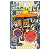 仮面ライダー鎧武(ガイム) スピンコマ(12個入) / お楽しみグッズ(紙風船)付きセット