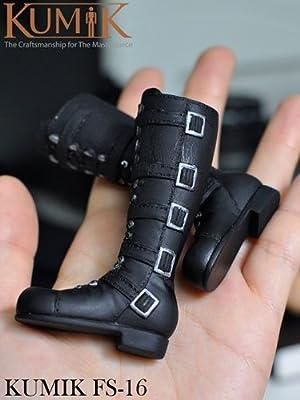 1/6 女性ブーツ(KM15-FS16)(ドール用衣装)