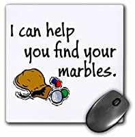 I can help you find your marbles. - Mouse Pad 8 by 8 inches (mp_193346_1) [並行輸入品]