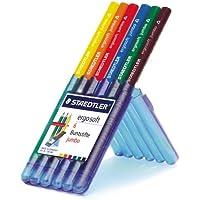 ステッドラー エルゴソフト ジャンボ色鉛筆 6色セット 158 SB6-GB