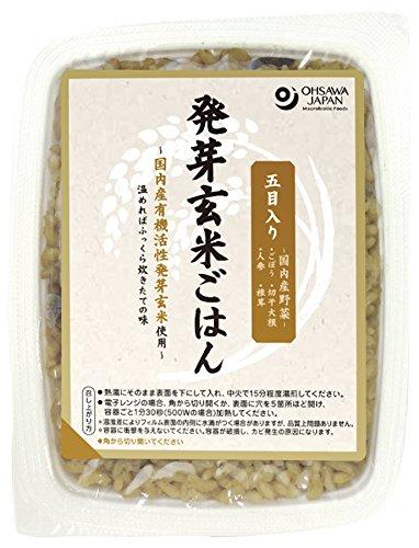 オーサワジャパン オーサワ 五目入り発芽玄米ごはん 160g