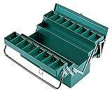 リングスター 3段式ボックス パイプハンドル スチール製 グリーン RSD-413 【L410×W200×H230mm】