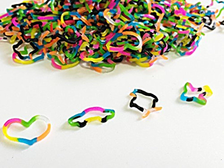 [Artasy ™][並行輸入品] DIY 3D立体造形カラーゴムバンドブレスレット (ミックス) Loom Bands refill Pack - (600) rubber ring Color: MIX