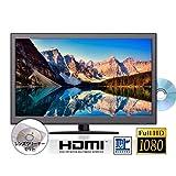 Agrexsione テレビ TV 24インチ 24型 DVD内蔵 DVDプレーヤー搭載 一体型 フルハイビジョン対応 高画質 地上波 デジタル 液晶テレビ HDMI PC入力端子 搭載 メンテナンス用マルチレンズクリーナーセット メーカー1年保証