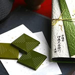 伊藤久右衛門 宇治抹茶 板チョコレート まっちゃ綴り 3枚入×3セット まとめ買い 限定 和紙ラッピング