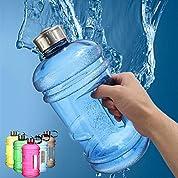 ボトル 水分補給 スポーツ 軽量 ガロンボトル ジャグ 漏れ防止 広口 ドリンク対応 2.2L