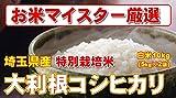埼玉県産 白米 大利根 コシヒカリ 10kg (5kg×2) (検査一等米) 特別栽培米 平成28年産