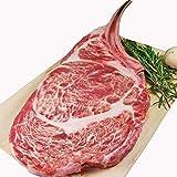とろける やわらか 牛リブロース ステーキ肉 極厚2cm ビッグサイズ30cm (骨付き 牛肉 ステーキ バーベキュー) 【当日15:00まで即納可 (土日祝 休まず 年中無休)】
