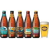 ハワイコナビール瓶355ml5種飲み比べ5本セットグラス付き