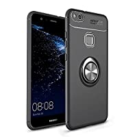 Moonmini Case For Huawei P10 Lite, Fashion Scratch Resistant Shock Absorbing スマホケース Protective Case For Huawei P10 Lite Black
