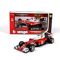 Children's Toycydkzmepa 1:43 Ferrari Formula 1合金車モデル、金属車モデル装飾品、2016フェラーリ7赤36803