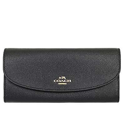 [コーチ] COACH 財布 (長財布) F54009 ブラック レザー 長財布 レディース [アウトレット品] [並行輸入品]