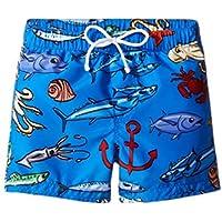 [ドルチェアンドガッバーナ] Dolce & Gabbana Kids ボーイズ Mare Fish Swim Trunk (Infant) 水着 [並行輸入品]