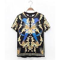 Women Men Unisex 3D Print Galaxy Animal hipster Tee Shirt(Printed totem)