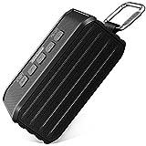 Bluetoothスピーカー IPX6 防水 アウトドア 8W 低音強化 ポータブルスピーカー Techvilla Bluetooth 4.1 ワイヤレススピーカー 10連続再生時間 内蔵マイク (Vigor1)