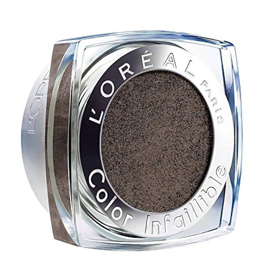 高い書道ビタミンL'Oréal Paris Indefectible Color Infaillible Lidschatten, 14 Eternal Black