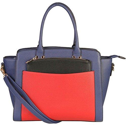 (ディオフィ) Diophy バッグ トートバッグ 0 Double Top Handle Large Tote Bag with Removable Strap 並行輸入品