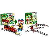 レゴ(LEGO)デュプロ キミが車掌さん! おしてGO機関車デラックス 10874 & あそびが広がる! 踏切レールセット 10882【セット買い】