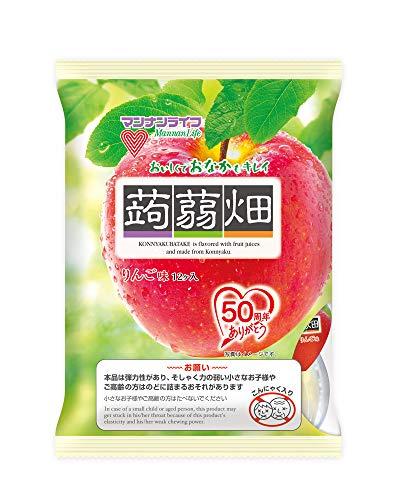 マンナンライフ 蒟蒻畑 りんご味 ×12袋