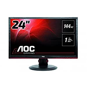 AOC G2460PF 24-Inch Free Sync Gaming LED Monitor, Full HD (1920 x 1080), 144hz, 1ms [並行輸入品]