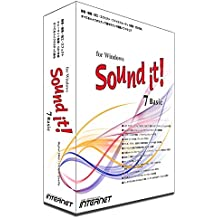 Sound it! 7 Basic for Windows DTM・DAWソフトウェア