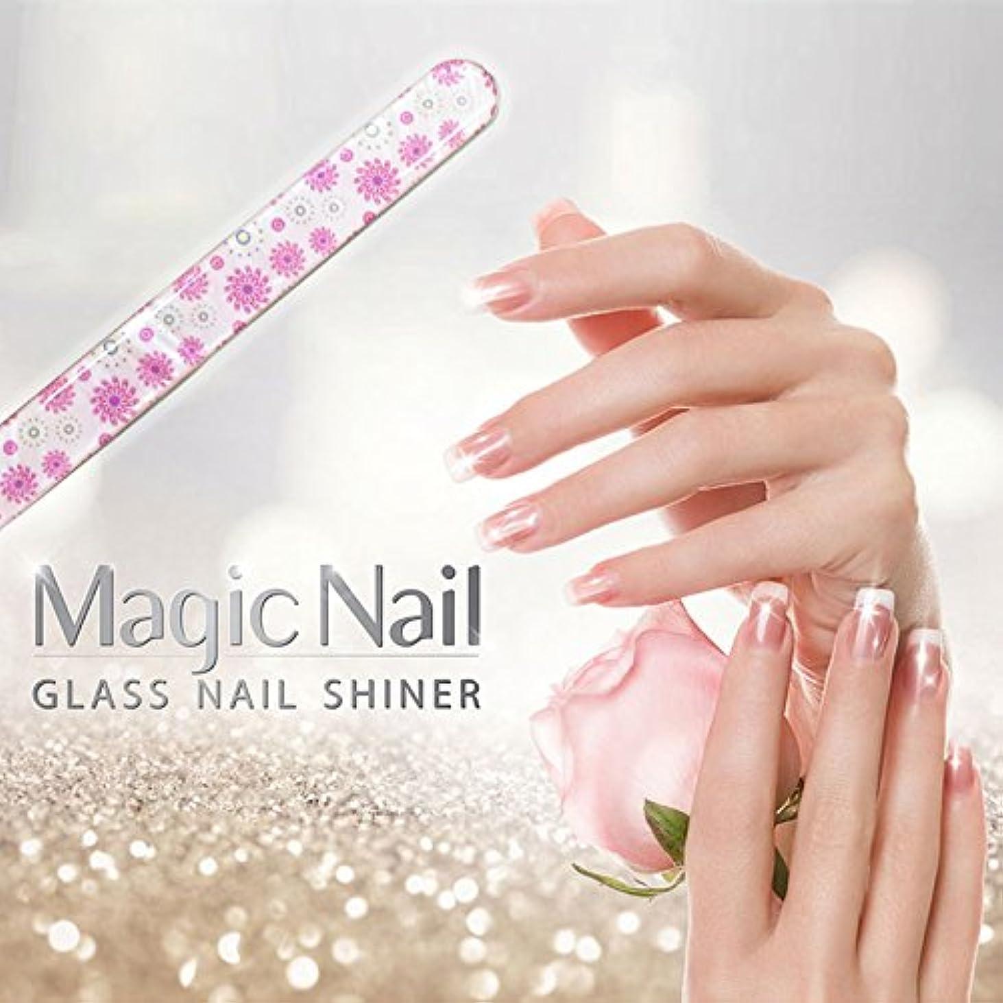 初期無し抑圧エッサンテ(Essante) マジックネイル magic nail マニキュアを塗ったようなツヤ、輝きが家で誰でも簡単に出来る glass nail shiner ガラスネイルシャイナー おしゃれなデザイン つめやすり ...