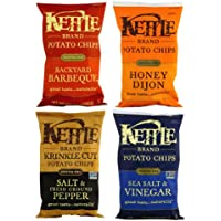 Kettle ケトルブランド ポテトチップス 4種類セット [並行輸入品]